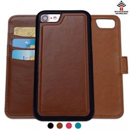 Shanshui 2in1 Ledertasche für iPhones mit RFID-Schutz Farben